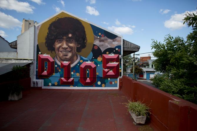 Khám phá căn nhà thuở chưa nổi tiếng của Maradona, sẽ là nơi yên nghỉ cuối cùng của Cậu bé Vàng - ảnh 1