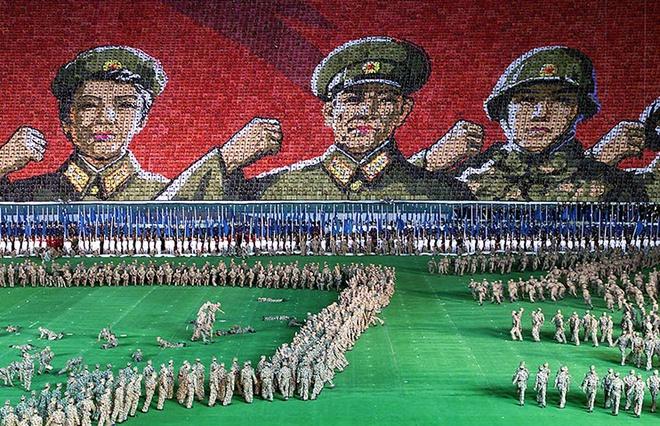 Choáng ngợp với SVĐ lớn nhất thế giới ít người biết tại CHDCND Triều Tiên: Sức chứa lên đến 150.000 người, hiếm khi tổ chức trận đấu  - Ảnh 5.