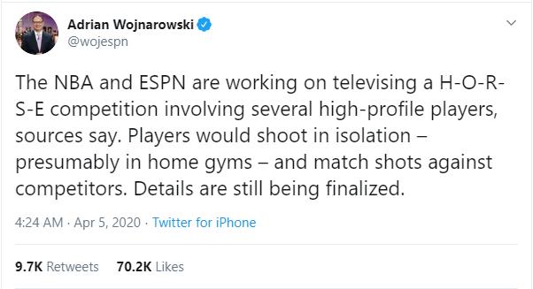 Sau giải đấu điện tử, NBA sáng tạo thêm show truyền hình đến với người hâm mộ giữa đại dịch Covid-19 - Ảnh 1.