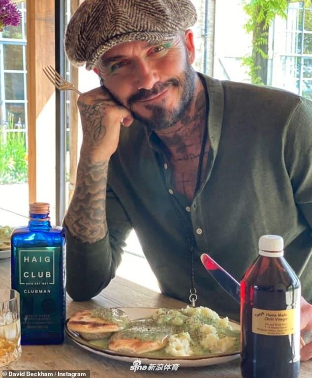 David Beckham bất ngờ xuất hiện với diện mạo tàn tạ đến khó         tin, có dấu hiệu bị hói đầu - Ảnh 5.