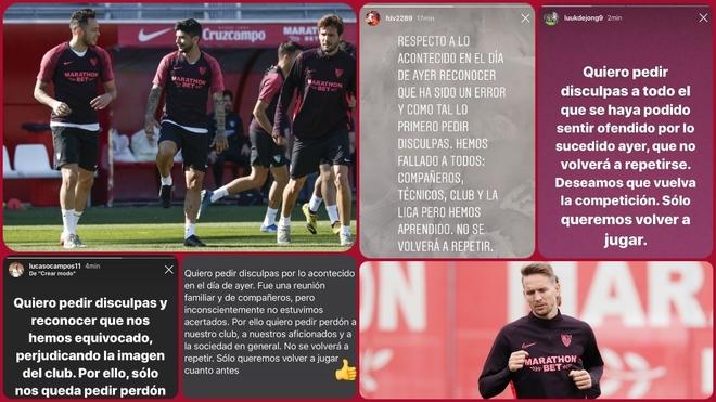 Ngang nhiên tụ tập ăn nhậu lại còn chụp ảnh tự sướng để khoe trên MXH, nhóm cầu thủ tại La Liga đối diện với án phạt nặng - Ảnh 3.