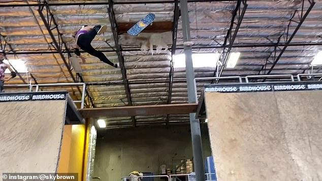Thần đồng trượt ván 11 tuổi bị nứt hộp sọ, may mắn sống sót sau cú ngã kinh hoàng trong lúc tập luyện - ảnh 2