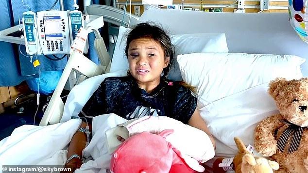 Thần đồng trượt ván 11 tuổi bị nứt hộp sọ, may mắn sống sót sau cú ngã kinh hoàng trong lúc tập luyện - ảnh 3