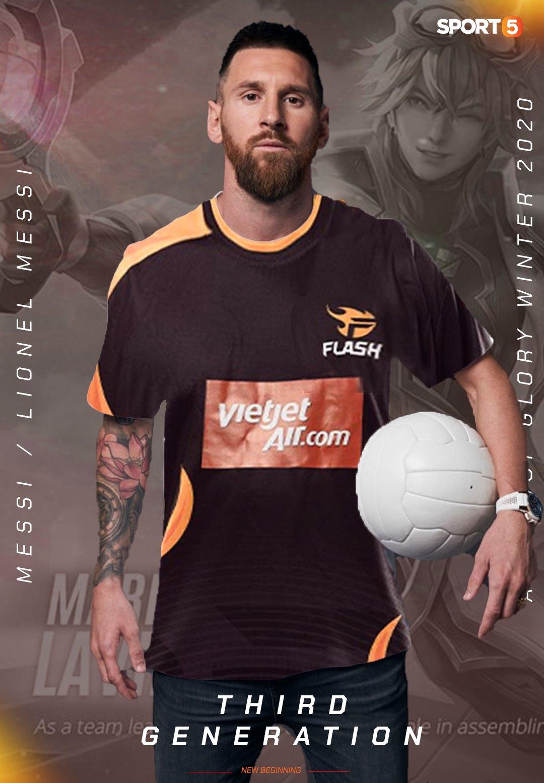 Cả thế giới chế ảnh mua Messi, từ bóng đá, bóng rổ đến Esports, bơi lội, điền kinh - Ảnh 14.