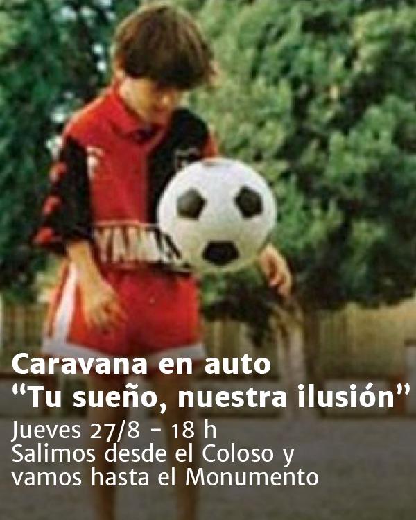 Fan tổ chức diễu hành, mời Messi trở về Argentina khoác áo đội bóng cũ - Ảnh 1.