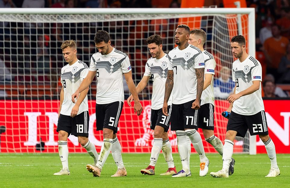 Tuyển Đức lần đầu thua sấp mặt khó tin trước Hà Lan - Ảnh 1.