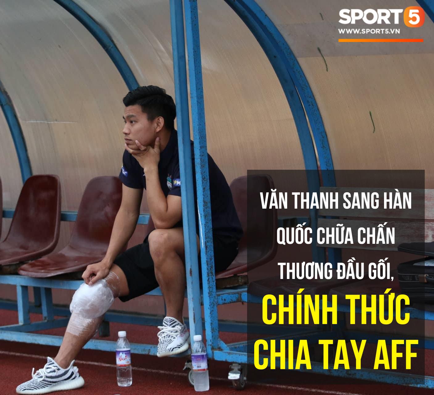 Vũ Văn Thanh đứt dây chằng, chia tay AFF Cup 2018 - Ảnh 1.
