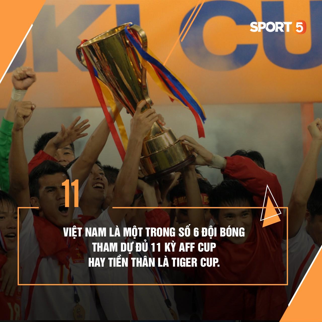 Những thống kê thú vị về tuyển Việt Nam ở AFF Cup - Ảnh 2.