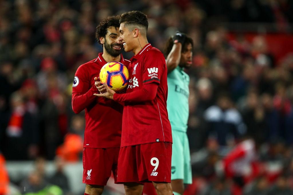 Hành động cao thượng của Salah khiến thầy Klopp chực rơi nước mắt khi Liverpool hủy diệt Arsenal 5-1 - Ảnh 2.