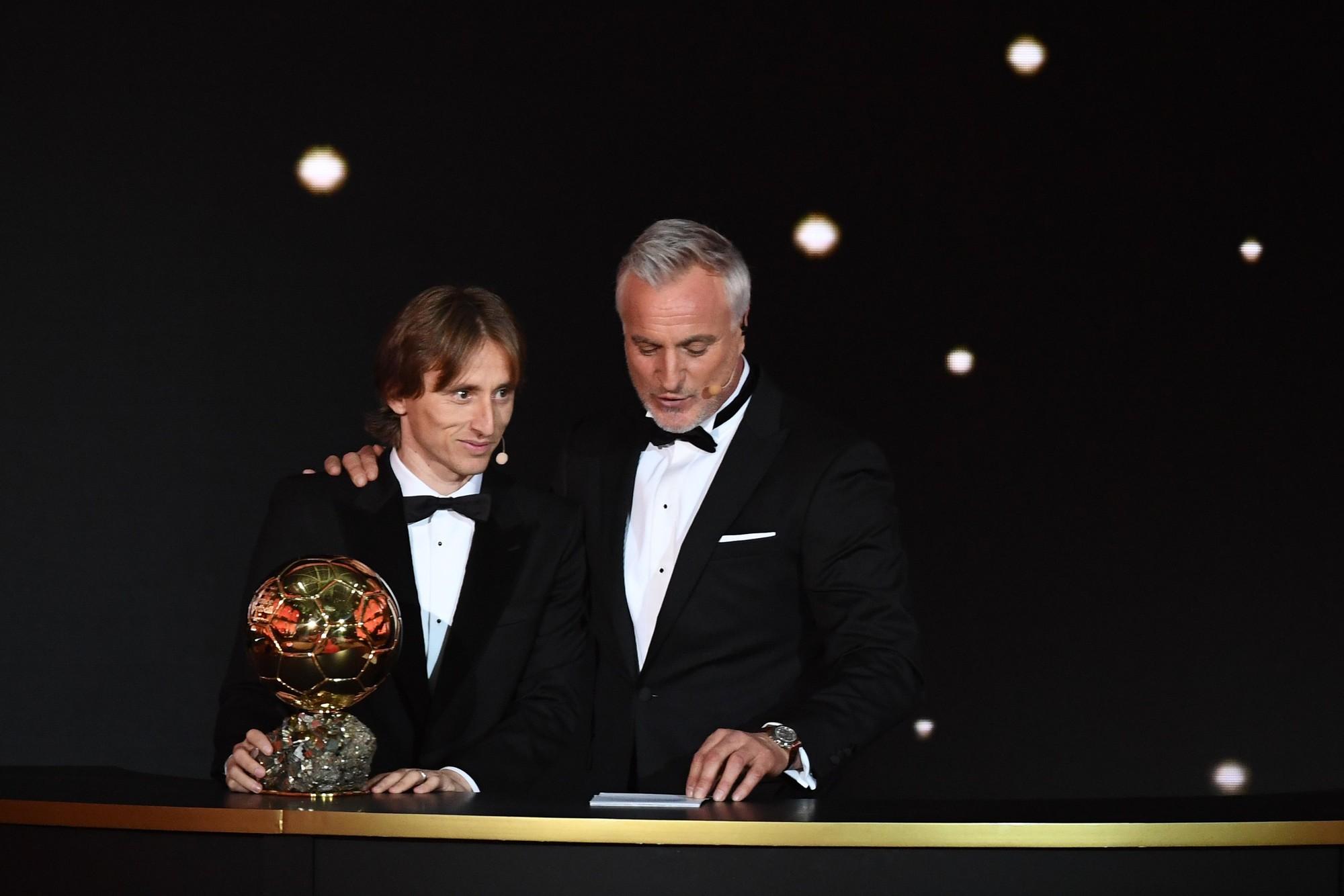 Sự thống trị của Ronaldo - Messi đã chấm dứt, Quả bóng vàng 2018 thuộc về Modric - Ảnh 3.