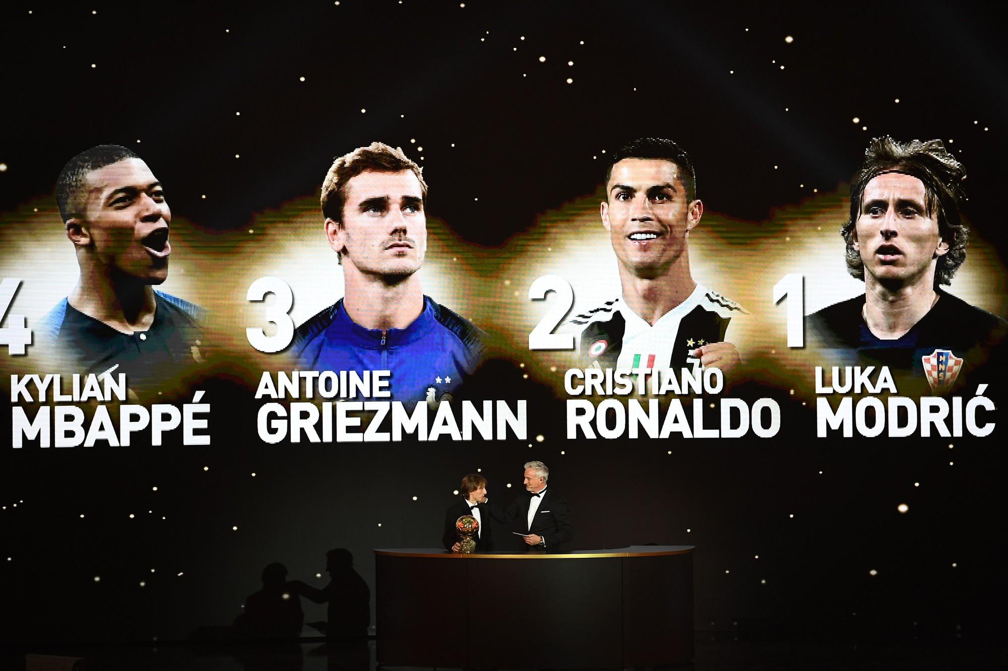 Sự thống trị của Ronaldo - Messi đã chấm dứt, Quả bóng vàng 2018 thuộc về Modric - Ảnh 4.
