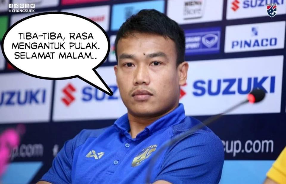 Fan Malaysia vui sướng tột cùng, hả hê đăng ảnh mỉa mai thủ môn Thái Lan mạnh mồm tuyên bố cho Malaysia gặp ác mộng - Ảnh 2.