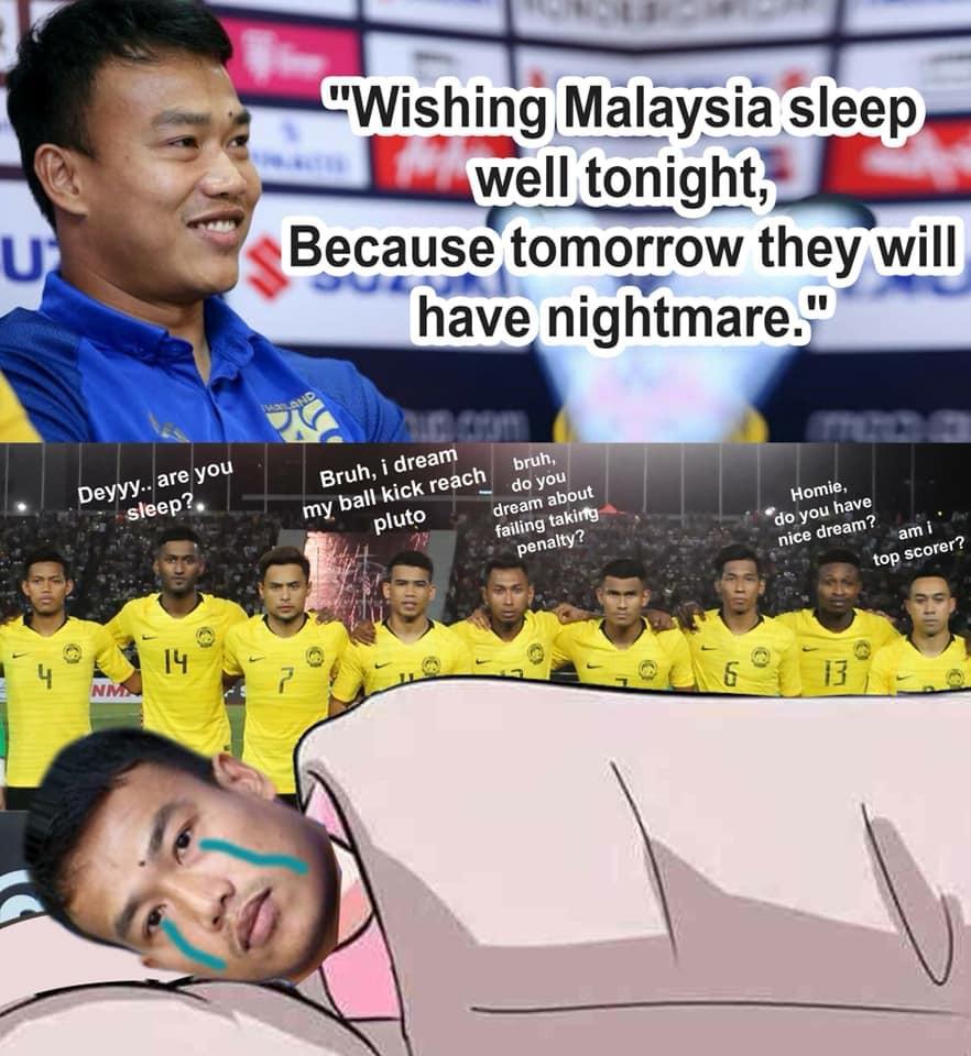 Fan Malaysia vui sướng tột cùng, hả hê đăng ảnh mỉa mai thủ môn Thái Lan mạnh mồm tuyên bố cho Malaysia gặp ác mộng - Ảnh 1.