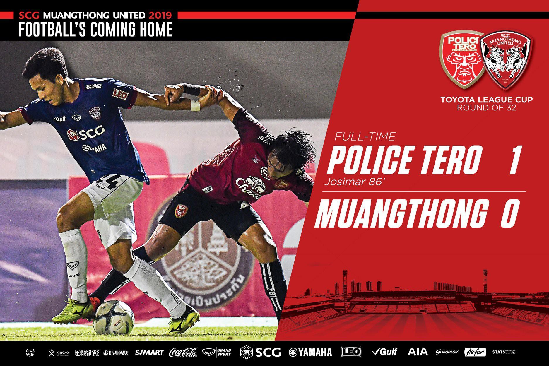 Muangthong United thất bại trước CLB đang xếp thứ 6 tại Thai League 2 - Ảnh 1.