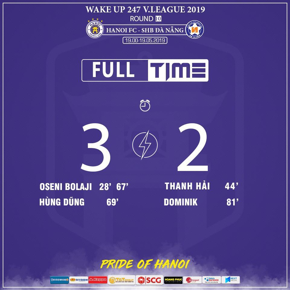 CLB Hà Nội 3-2 Đà Nẵng: Nhà vô địch thắng toát mồ hôi trong ngày ra mắt của Bùi Tiến Dũng - Ảnh 4.