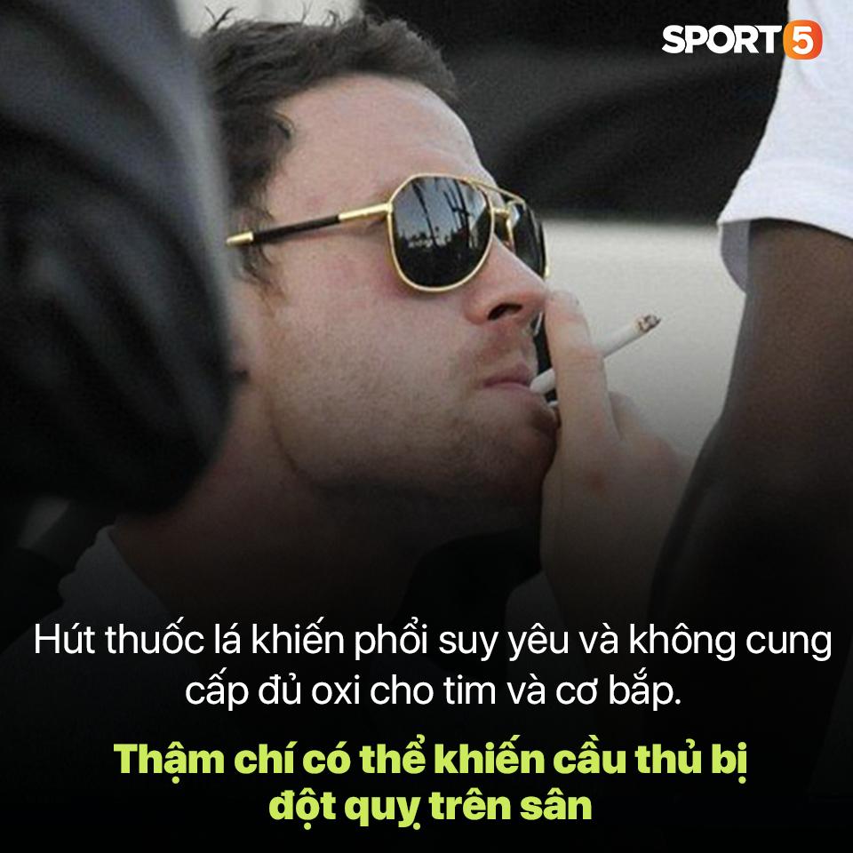 Thuốc lá, kẻ thù đối với sự nghiệp cầu thủ và những bài học nhãn tiền ở Việt Nam - Ảnh 2.
