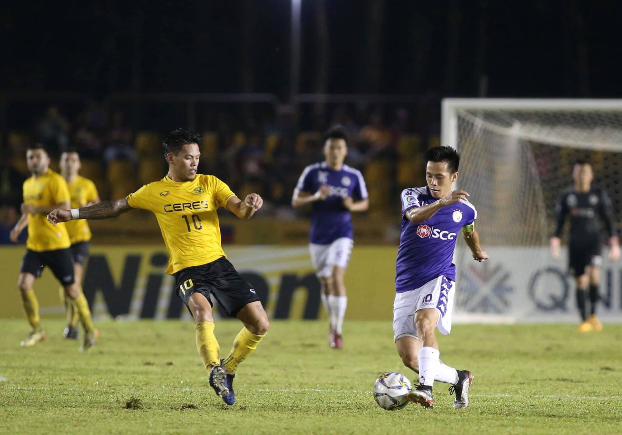 Hà Nội FC cầm hoà kịch tính Ceres Negros, sáng cửa vào chung kết AFC Cup 2019 - Ảnh 1.