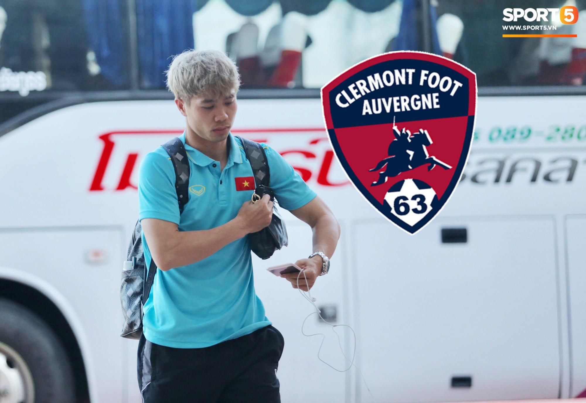 Chính thức: Không phải Paris FC, Clermont Foot 63 mới là bến đỗ mới của Công Phượng khi sang Pháp - Ảnh 2.