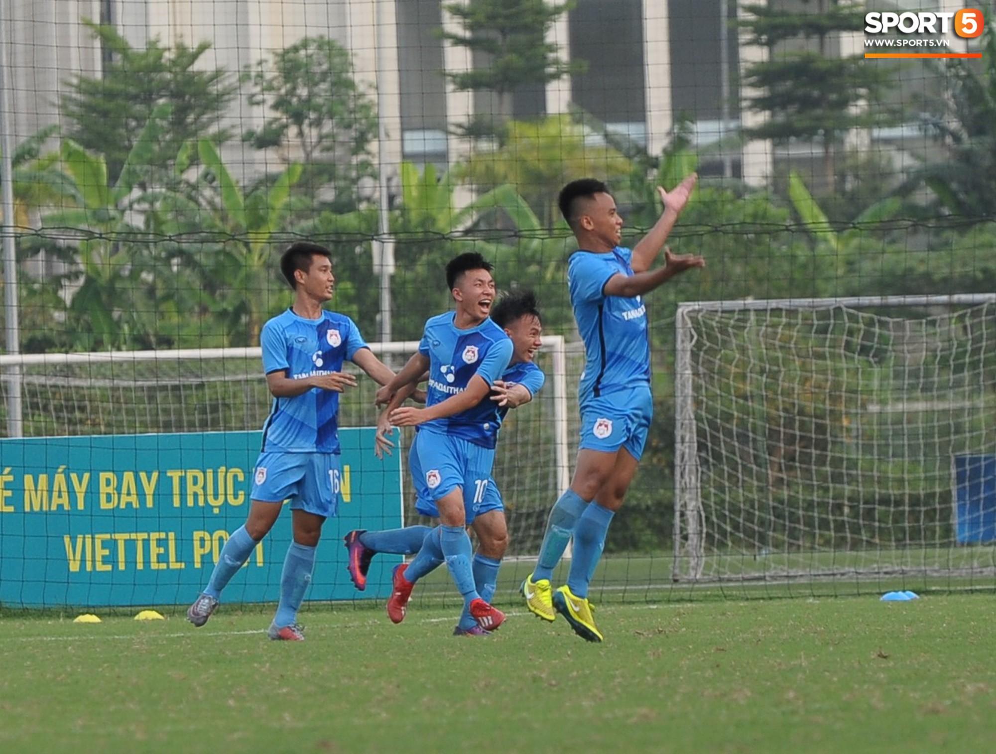 Sao trẻ U23 lập công, Viettel để Phố Hiến cầm hòa 1-1 trong ngày khai mạc giải U21 Quốc gia - Ảnh 12.