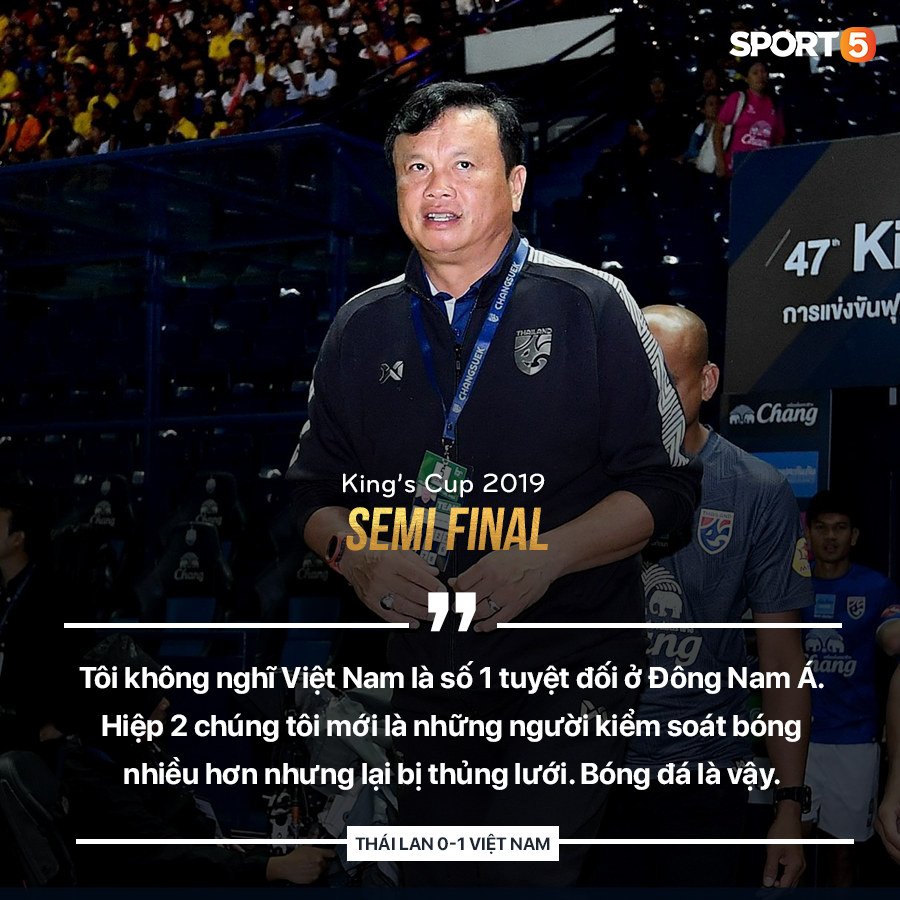 Thất bại với tỷ số tối thiểu, HLV Thái Lan vẫn không công nhận Việt Nam là số 1 Đông Nam Á - Ảnh 1.