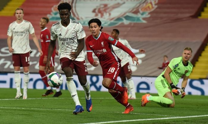 Thủ môn hóa người nhện, Arsenal hạ gục Liverpool ở loạt sút luân lưu cân não - Ảnh 5.