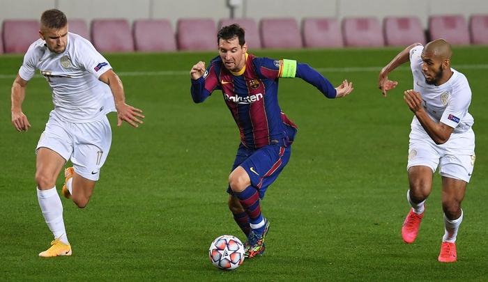 Barcelona đại thắng 5-1 trận ra quân Champions League: Messi cân bằng kỷ lục với huyền thoại MU - ảnh 2