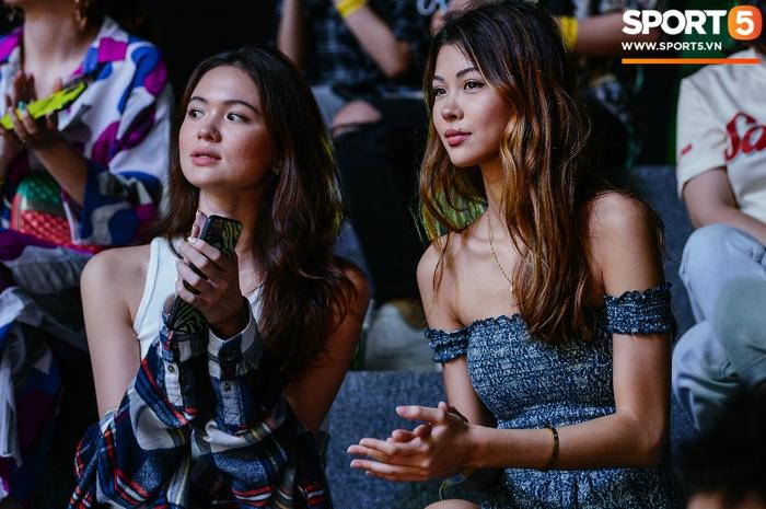 Dàn nữ cổ động viên xinh ngất ngây hâm nóng trận đấu Nha Trang Dolphins gặp Saigon Heat - Ảnh 4.