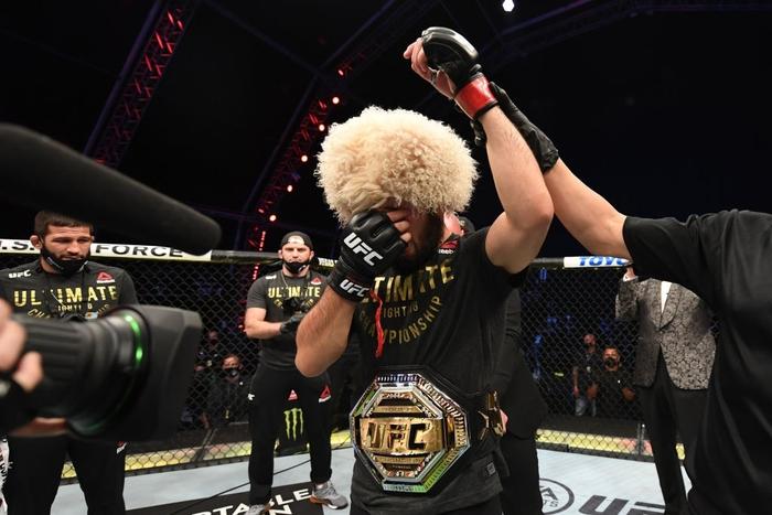Hé lộ số tiền Khabib và Gaethje nhận về sau trận đại chiến tại UFC - Ảnh 2.
