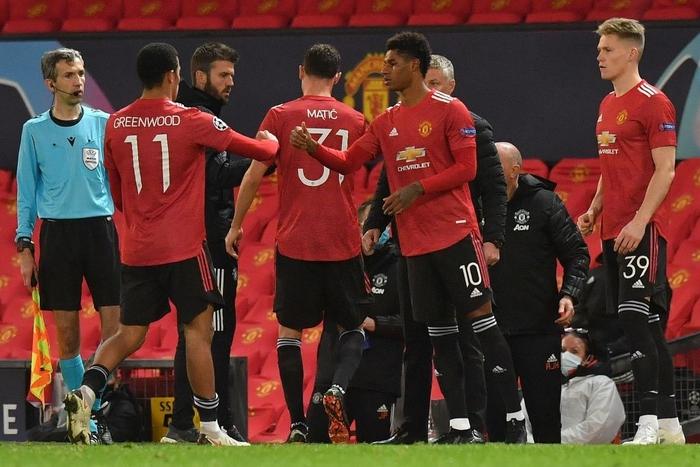 Man Utd 5-0 RB Leipzig: Chiến thắng tưng bừng, Quỷ đỏ độc chiếm ngôi đầu - Ảnh 6.