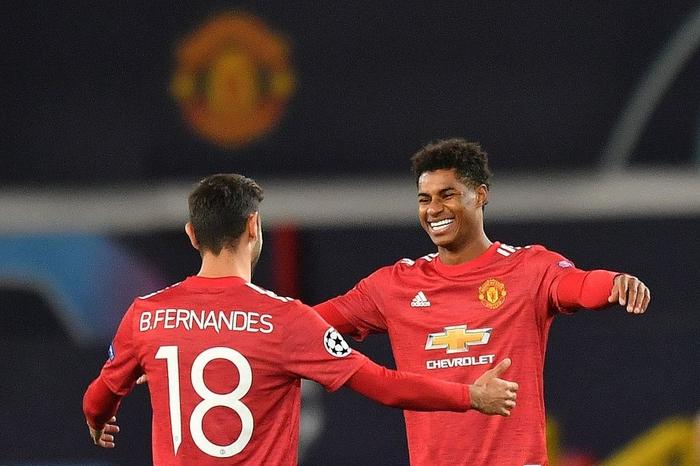 Man Utd 5-0 RB Leipzig: Chiến thắng tưng bừng, Quỷ đỏ độc chiếm ngôi đầu - Ảnh 8.