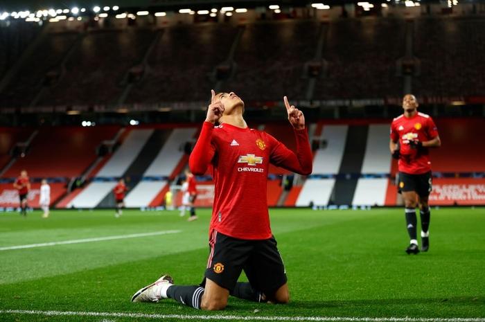 Man Utd 5-0 RB Leipzig: Chiến thắng tưng bừng, Quỷ đỏ độc chiếm ngôi đầu - Ảnh 3.