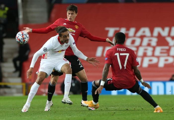 Man Utd 5-0 RB Leipzig: Chiến thắng tưng bừng, Quỷ đỏ độc chiếm ngôi đầu - Ảnh 4.