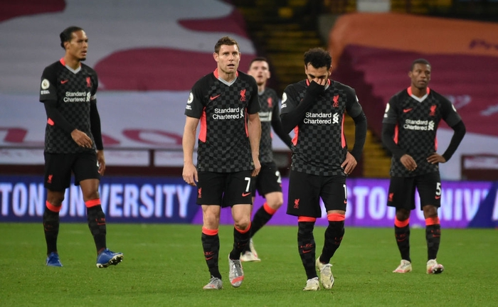 Cú sốc kinh hoàng: ĐKVĐ Liverpool thảm bại kỷ lục 2-7 trước đội bóng suýt xuống hạng mùa trước - Ảnh 1.