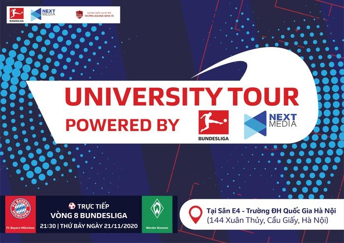 Đại học Kinh tế - ĐHQG Hà Nội: Điểm dừng chân đầu tiên của sự kiện Bundesliga University Tour - Ảnh 1.