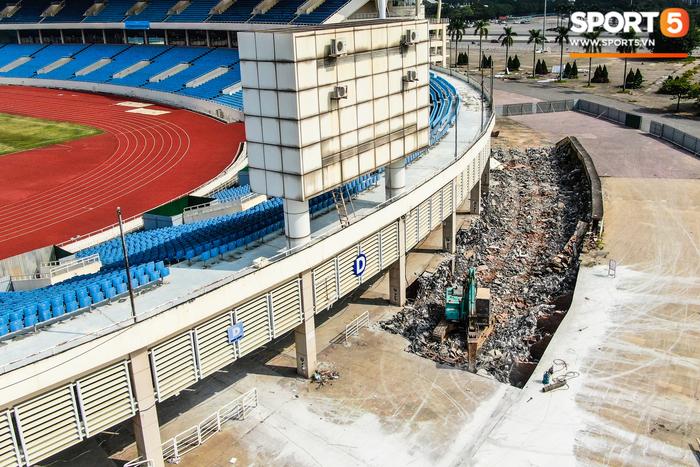 """Sân Mỹ Đình sẽ được """"khoác áo mới"""" chuẩn bị cho SEA Games 31  - Ảnh 4."""
