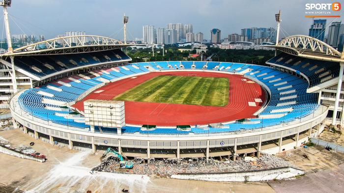 """Sân Mỹ Đình sẽ được """"khoác áo mới"""" chuẩn bị cho SEA Games 31  - Ảnh 3."""