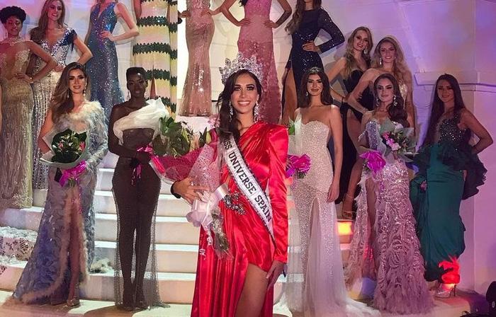 Mỹ nhân làng bóng rổ đăng quang Hoa hậu Hoàn vũ Tây Ban Nha, nhìn đôi chân dài miên man mà choáng ngợp toàn tập - ảnh 1
