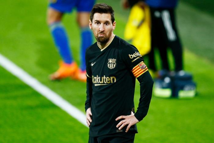 Messi và đồng đội tịt ngòi, Barcelona thua đau đội bóng mới lên hạng - Ảnh 2.