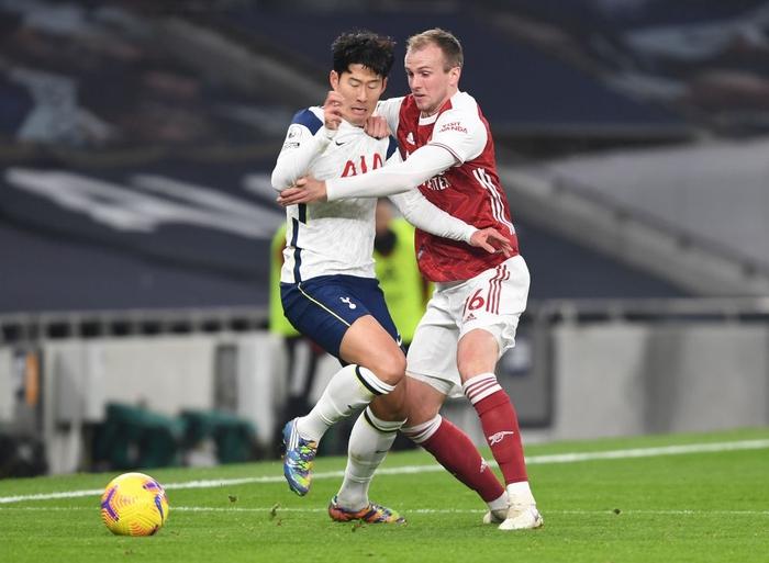 Son Heung-min vẽ siêu phẩm, Tottenham hạ gục Arsenal để bay cao trên đỉnh bảng Ngoại hạng Anh - Ảnh 2.