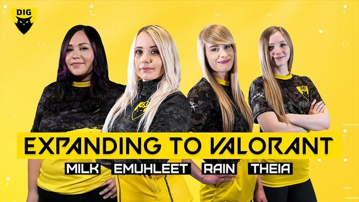 Xuất hiện đội VALORANT toàn nữ game thủ xinh đẹp lại còn sở hữu kĩ năng cực khủng - Ảnh 1.