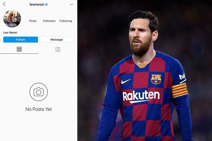 Fan tá hỏa khi chứng kiến tài khoản 152 triệu follow của Messi bỗng mất sạch: Phải chăng có bàn tay đen của Ronaldo? - ảnh 1