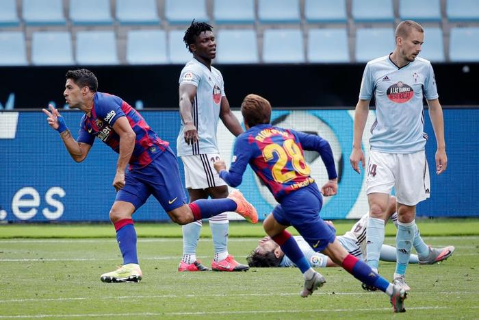"""Song tấu Messi - Suarez phối hợp ghi bàn đậm chất """"phủi"""", Barcelona vẫn mất điểm trong cuộc đua vô địch bởi cú sút phạt """"10 điểm"""" - Ảnh 4."""