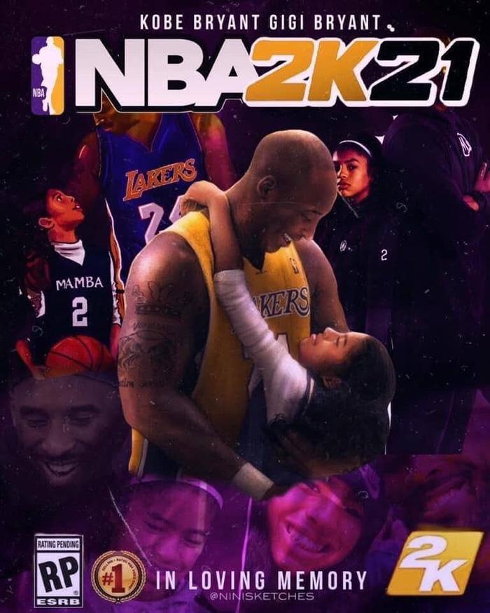 Kobe Bryant được xác nhận xuất hiện trên bìa tựa game NBA 2K21, NHM tung ra loạt ảnh fanmade cực chất - Ảnh 8.