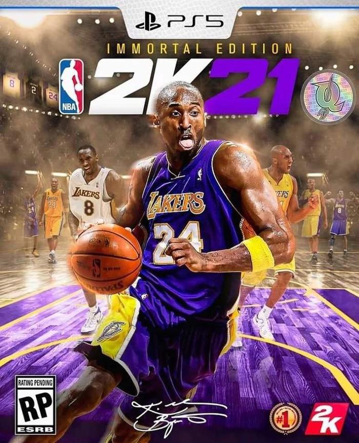 Kobe Bryant được xác nhận xuất hiện trên bìa tựa game NBA 2K21, NHM tung ra loạt ảnh fanmade cực chất - Ảnh 3.