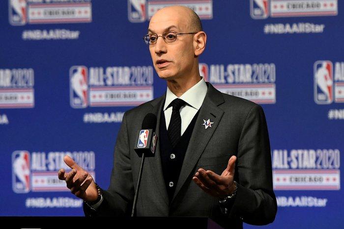 """Chủ tịch NBA gây sốc với tuyên bố: """"Chúng tôi trở lại không phải là vì tiền"""" - Ảnh 1."""