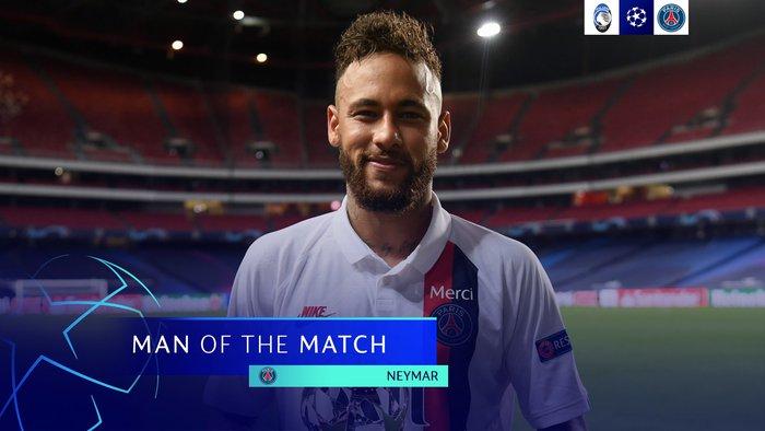 Neymar thể hiện màn trình diễn siêu đẳng trước Atalanta nhưng vẫn bị cộng đồng mạng chọc quê vì tình huống bỏ lỡ khó tin này - Ảnh 5.
