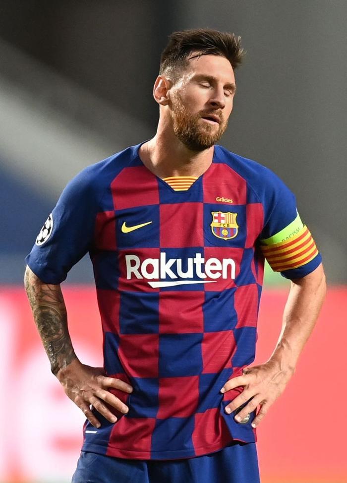 Messi ôm đầu buồn bã, thất thần chứng kiến thất bại 2-8 không thể tin nổi của Barca - Ảnh 5.