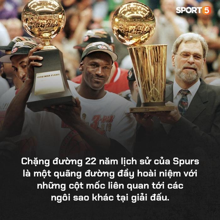 San Antonio Spurs: Một đế chế 22 năm đã vụt tắt, nhưng di sản của họ sẽ còn mãi với thời gian - Ảnh 3.