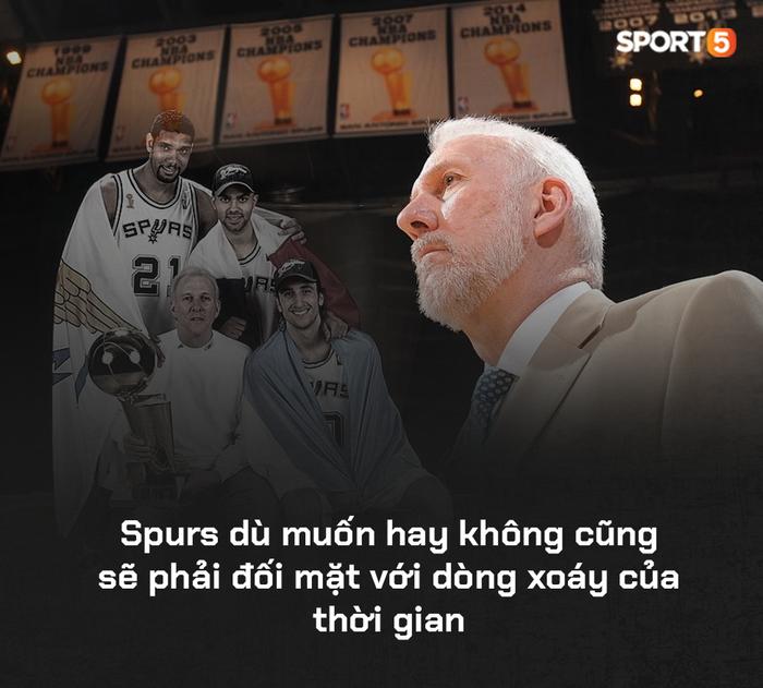 San Antonio Spurs: Một đế chế 22 năm đã vụt tắt, nhưng di sản của họ sẽ còn mãi với thời gian - Ảnh 19.