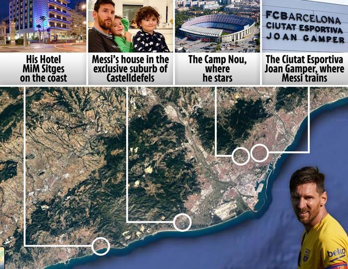 Rời Barcelona, Messi sẽ phải tạm chia tay cuộc sống của một ông hoàng - Ảnh 1.